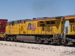 UP 5311 #3 power in an EB intermodal at 1:22pm