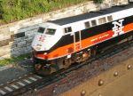 Metro North P32AC-DM (CDOT) Hustles the Mohawk Empress North