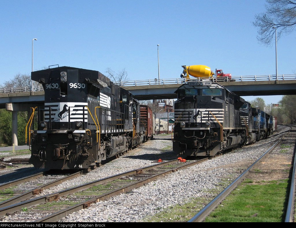 7 Locomotives and 1 Cement Mixer