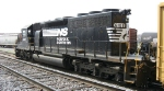 NS 6108 Idles on a bright warm day