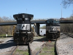 NS 9630 & 2721 On a beautiful spring day