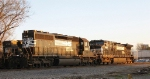 NS 6108 & 9630 at sunset