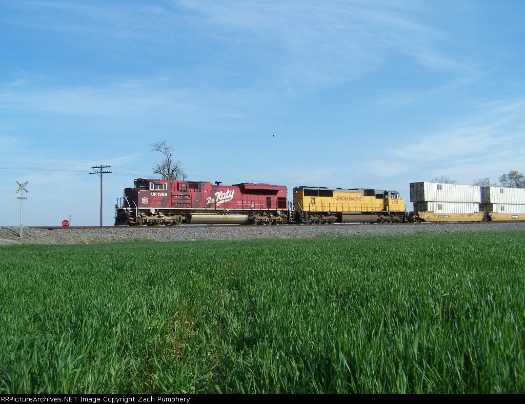 Southbound Intermodal With the MKT