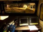 UP 7607 C45ACCTE GEVO Cab Interior