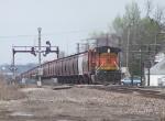 Eastbound Empty Grain Train DPU