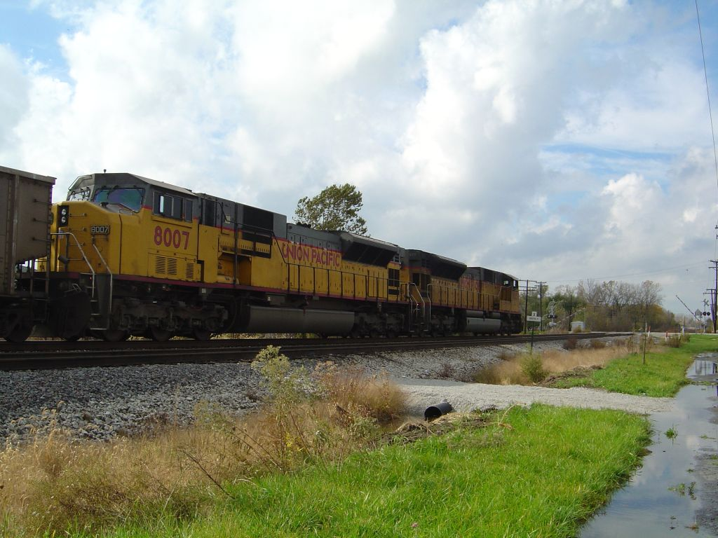 UP 8007 UP 8105