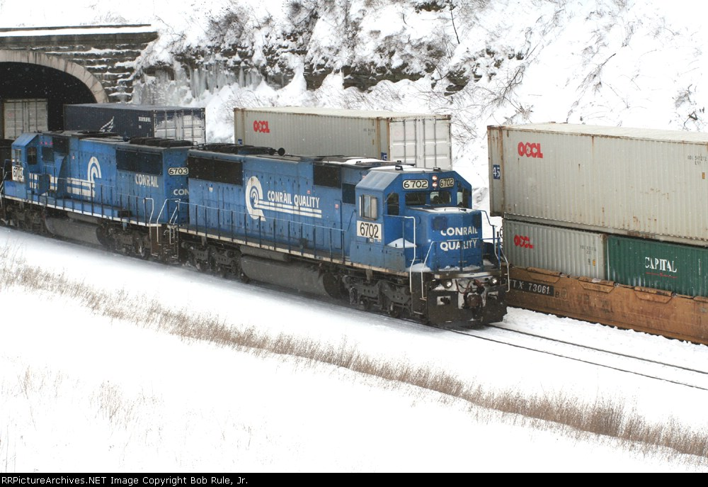 WB at the Tunnel - Gallitzin, Pa