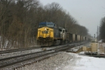 CSX 218 takes hoppers back to the Big Sandy