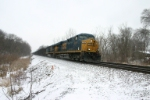 CSX 5315 on empty coke train