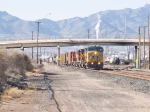 UP 9546 leads EB stack at 3:40pm