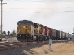 UP 7391 leads in a WB manifest at 4:51pm