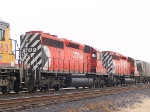 CP 5709 #3 unit in a WB manifest at 4:51pm