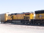 UP 9774 #2 unit in a WB autorack at 12:07pm