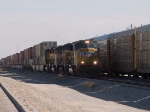 UP 4274 leads a WB intermodal at 10:20am