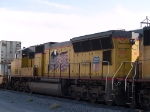 UP 5195 #4 power in a WB intermodal at 10:20am