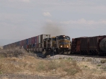UP 3998 leads a WB intermodal at 11:52am