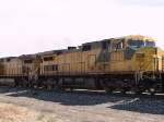 UP 9771 #2 power in WB intermodal at 11:52am