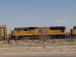 UP 5012 #3 power in a WB autorack at 4:17pm