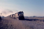 1123-25 Eastbound CNW freight pulled by Alco slug set