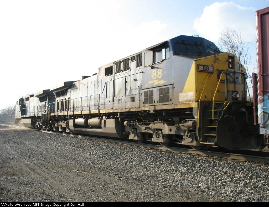 CSX 88 & 7380