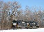 NS 3542 & 2718 as train 964