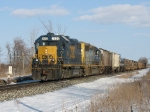 CSX 2635 & 6117 leading D908 back west