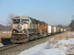 BNSF 9456 & 9943 leading E945