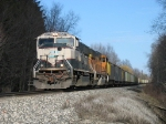 BNSF 9537 & 9870 with E945
