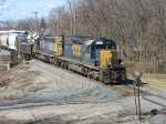 Q326-17 rolling east behind CSX 8020 & 8442