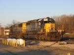 CSX 8199 & 8601, power from Q327-20, heading to the house