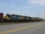 CSX 6049 & 2509 behind BN 9715 & BNSF 9978