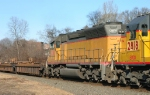 EB 93R With CEFX SD40-2 # 2784 in SD45 shell