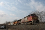 BNSF On The Norfolk Southern