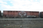 SP 616503 sitting in the UP yard