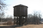 Illinois Central Cypress Water Tower