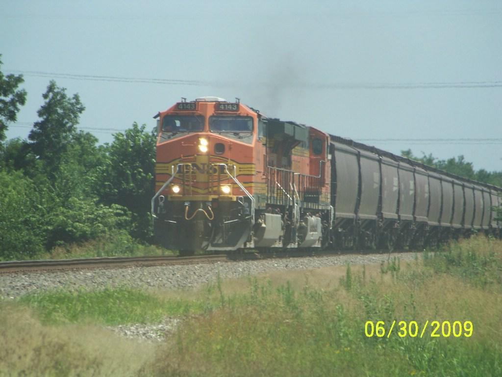 BNSF C44-9W 4143