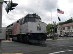 NJT 4128 Leads A Northbound Train To Suffern, NY