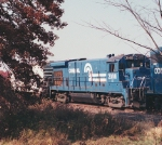 CR 2008 on rail train