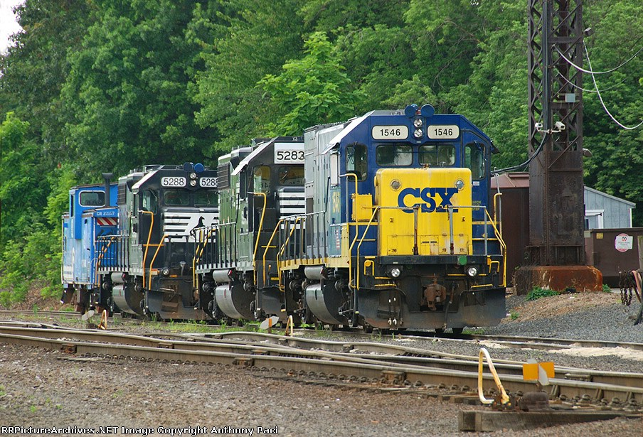 Conrail Shared Assets Operations power