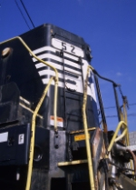 An SD9m closeup
