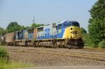 Outbound CSX ethanol train