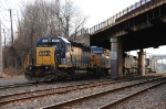 CSX ethanol train power