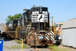 Norfolk Southern SD9m's still at Pavonia Yard