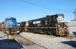 SD9m's and a Conrail blue Dash 8-40CW