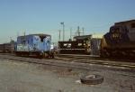 A Conrail transfer caboose