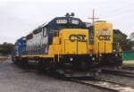 CSX engines at Paulsboro Yard