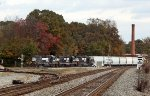 Asheville Train at Yadkin Jct.