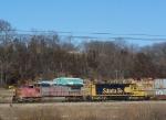 BNSF 895 & BNSF 6864