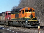 FURX 7257 (ex-BNSF) and CEFX (ex-SOO) Come into Full View