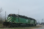 CEFX 7080 on Alabama & Gulf Coast Railway (ex-SLSF)